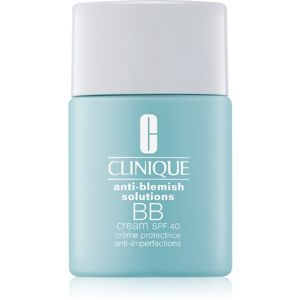 Clinique Anti-Blemish Solutions BB krém proti nedokonalostem pleti SPF 40 odstín Light Medium 30 ml