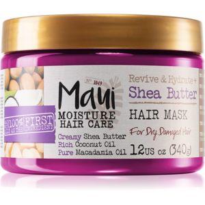 Maui Moisture Revive & Hydrate + Shea Butter hydratační maska pro suché a poškozené vlasy 340 g