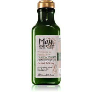 Maui Moisture Thicken & Restore + Bamboo Fibers posilující kondicionér pro křehké vlasy 385 ml