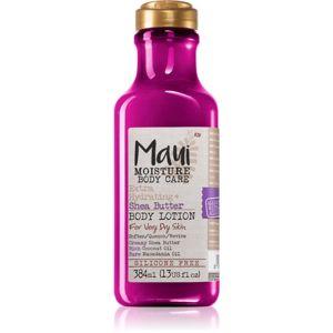 Maui Moisture Extra Hydrating + Shea Butter intenzivně hydratační tělové mléko pro extrémně suchou pokožku 385 ml