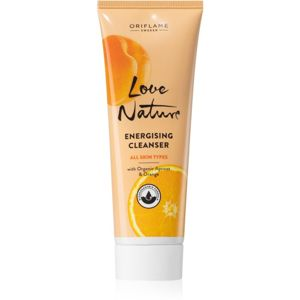 Oriflame Love Nature energizující čisticí gel pro stažení pórů a matný vzhled pleti 125 ml