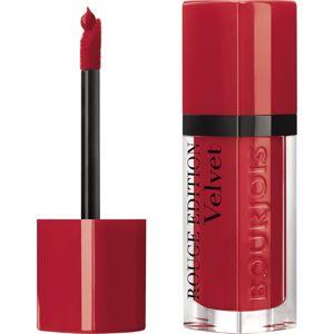 Bourjois Rouge Edition Velvet tekutá rtěnka s matným efektem odstín 18 It's Redding Men 7,7 ml