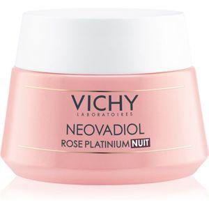 Vichy Neovadiol Rose Platinium rozjasňující a obnovující noční krém pro zralou pleť 50 ml