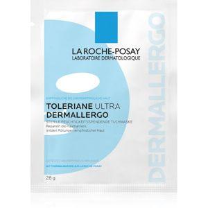 La Roche-Posay Toleriane Ultra Dermallergo plátýnková maska s hydratačním a zklidňujícím účinkem pro citlivou pleť 28 g
