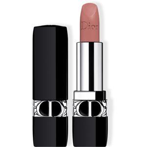 Dior Rouge Dior dlouhotrvající rtěnka plnitelná odstín 505 Sensual Matte 3,5 g