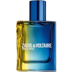 Zadig & Voltaire This is Love! Pour Lui toaletní voda pro muže 30 ml