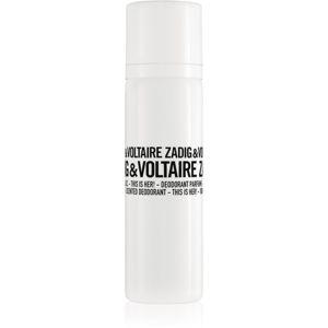 Zadig & Voltaire This is Her! deodorant ve spreji pro ženy 100 ml