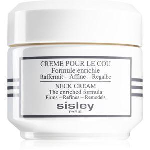 Sisley Neck Cream zpevňující krém na krk a dekolt 50 ml
