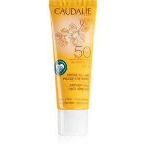 Caudalie Suncare opalovací krém na obličej s protivráskovým účinkem SPF 50 25 ml