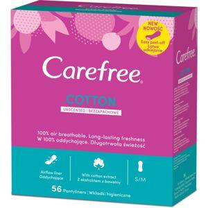 Carefree Cotton slipové vložky 56 ks