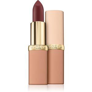 L'Oréal Paris Color Riche Matte Free The Nudes matná hydratační rtěnka odstín 09 No Judgment 3,6 g