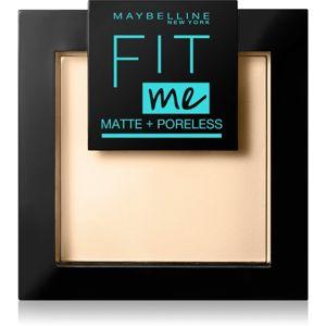 Maybelline Fit Me! Matte+Poreless matující pudr odstín 115 Ivory 9 g