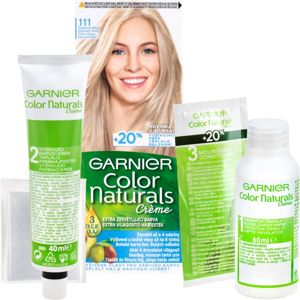 Garnier Color Naturals Creme barva na vlasy odstín 111 Extra Light Natural Ash Blond