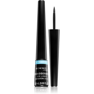 Rimmel Exaggerate Waterproof oční linky odstín 003 Glossy Black 2,5 ml