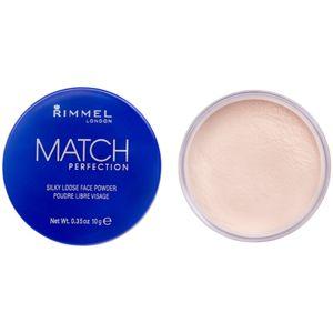 Rimmel Match Perfection transparentní fixační pudr 10 g