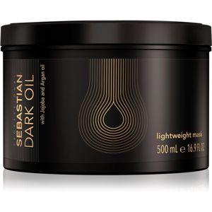 Sebastian Professional Dark Oil vyživující maska pro lesk a hebkost vlasů 500 ml