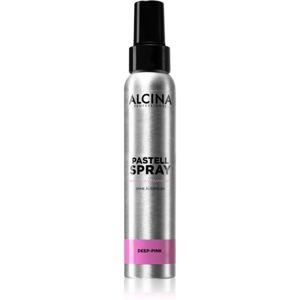 Alcina Pastell Spray tónující sprej na vlasy s okamžitým účinkem odstín Deep-Pink 100 ml