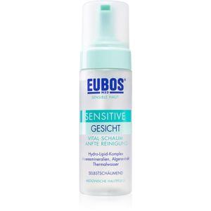 Eubos Sensitive čisticí pěna pro zklidnění a posílení citlivé pleti 150 ml