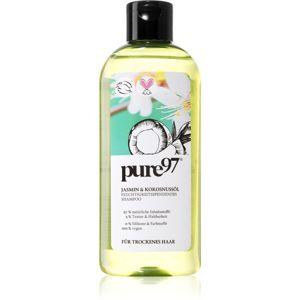 Pure97 Jasmin & Kokosnussöl hydratační šampon pro suché vlasy 250 ml