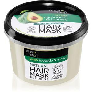 Organic Shop Natural Avocado & Honey regenerační maska na vlasy 250 ml