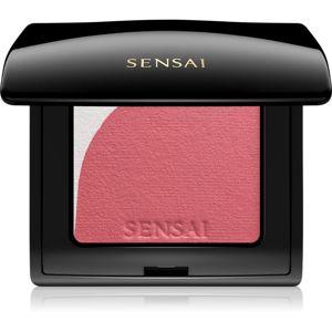 Sensai Blooming Blush rozjasňující tvářenka se štětečkem odstín 01 Blooming Mauve 4 g
