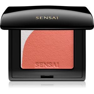 Sensai Blooming Blush rozjasňující tvářenka se štětečkem odstín 04 Blooming Orange 4 g