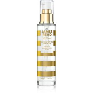 James Read Self Tan samoopalovací suchý olej odstín Light/Medium 100 ml