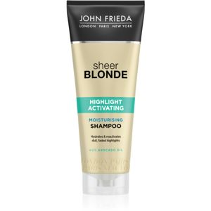John Frieda Sheer Blonde Highlight Activating hydratační šampon pro blond vlasy 250 ml