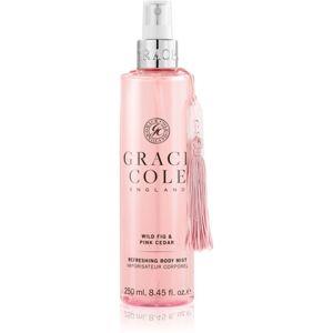 Grace Cole Wild Fig & Pink Cedar osvěžující mlha na tělo 250 ml