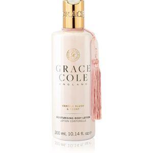 Grace Cole Vanilla Blush & Peony hydratační tělové mléko 300 ml