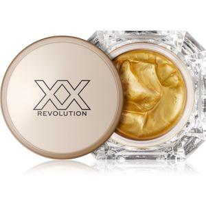 XX by Revolution METALIXX rozjasňující hydratační maska se zlatem 50 ml