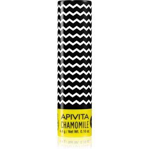 Apivita Lip Care Chamomile hydratační balzám na rty SPF 15 4,4 g