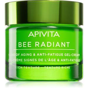Apivita Bee Radiant extra výživný pleťový krém proti stárnutí a na zpevnění pleti 50 ml