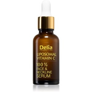 Delia Cosmetics Vitamine C rozjasňující sérum s vitaminem C na obličej a dekolt