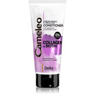 Delia Cosmetics Cameleo Collagen & Biotin posilující kondicionér pro poškozené a křehké vlasy 200 ml