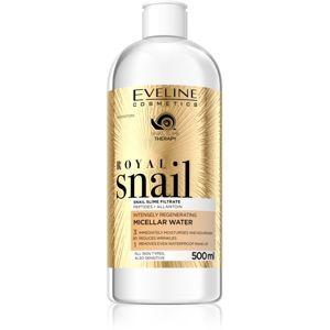 Eveline Cosmetics Royal Snail micelární voda s regeneračním účinkem 500 ml