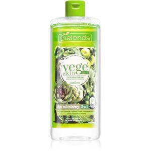 Bielenda Vege Skin Diet micelární voda pro mastnou a smíšenou pleť 500 ml