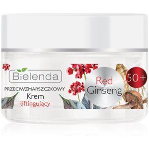 Bielenda Red Gingseng liftingový omlazující krém 50+ 50 ml