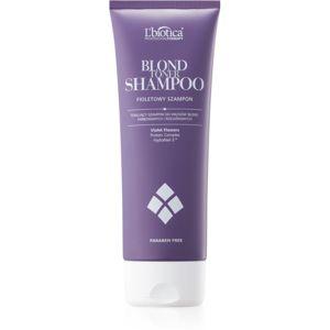 L'biotica Professional Therapy Blond fialový tónovací šampon pro blond vlasy 250 ml