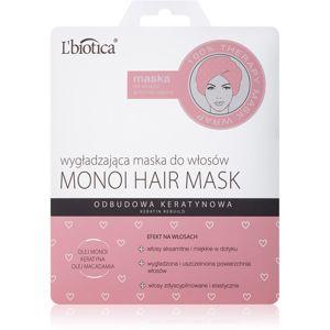 L'biotica Hair Mask hydratační vyhlazující maska Monoi