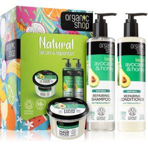 Organic Shop Natural Hair Care & Regeneration dárková sada (na vlasy)