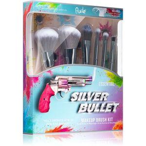Rude Cosmetics Silver Bullet sada štětců