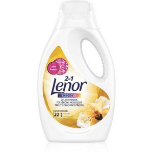 Lenor Gold Orchid prací gel 2 v 1 1100 ml