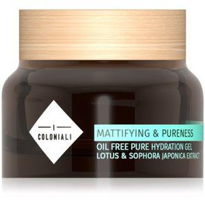 I Coloniali Mattifying & Pureness matující gel s hydratačním účinkem pro normální až smíšenou pleť 50 ml