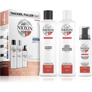 Nioxin System 4 Color Safe dárková sada pro barvené vlasy unisex II.
