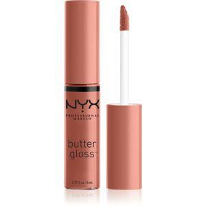 NYX Professional Makeup Butter Gloss lesk na rty odstín 35 Bit Of Honey 8 ml