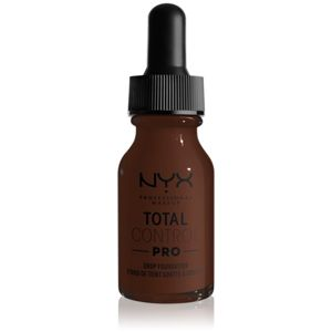 NYX Professional Makeup Total Control Pro make-up odstín 25 - Deep Ebony 13 ml