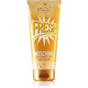 Moschino Gold Fresh Couture tělové mléko pro ženy 200 ml