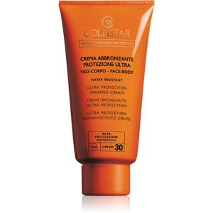 Collistar Special Perfect Tan Ultra Protection Tanning Cream ochranný krém na opalování SPF 30 150 ml