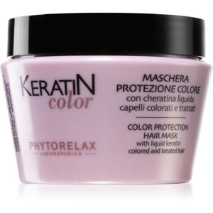 Phytorelax Laboratories Keratin Color maska na vlasy s keratinem 250 ml